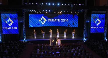 Mauricio Macri y Alberto Fernández polarizaron un segundo debate lleno de cruces