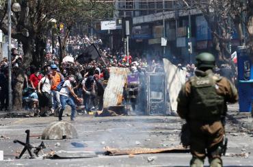 Estallido social en Chile: saqueos, vandalismo y destrucciónsin fin