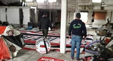 Detuvieron a siete barras de Chacarita: secuestraron drogas, armas, dinero y vehículos