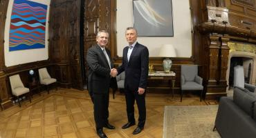 Acuerdo por el traspaso entre Macri y Alberto Fernández: se hará en el Congreso