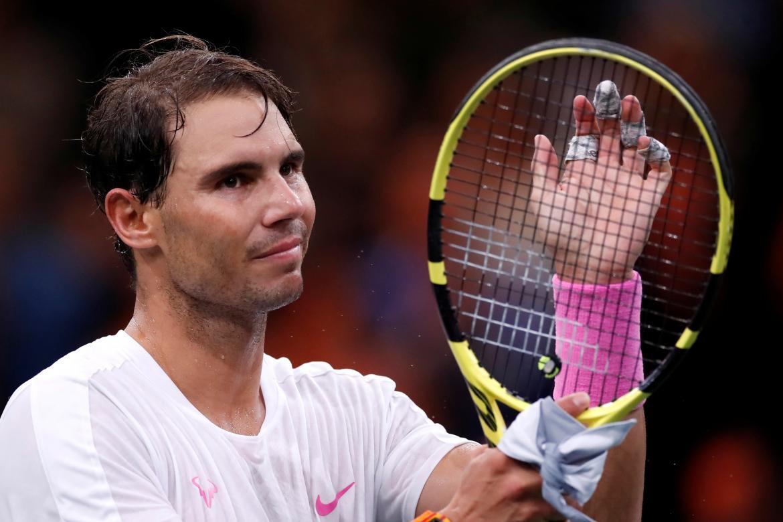 Triunfo de Rafael Nadal en el Masters 1000 de Paris, REUTERS