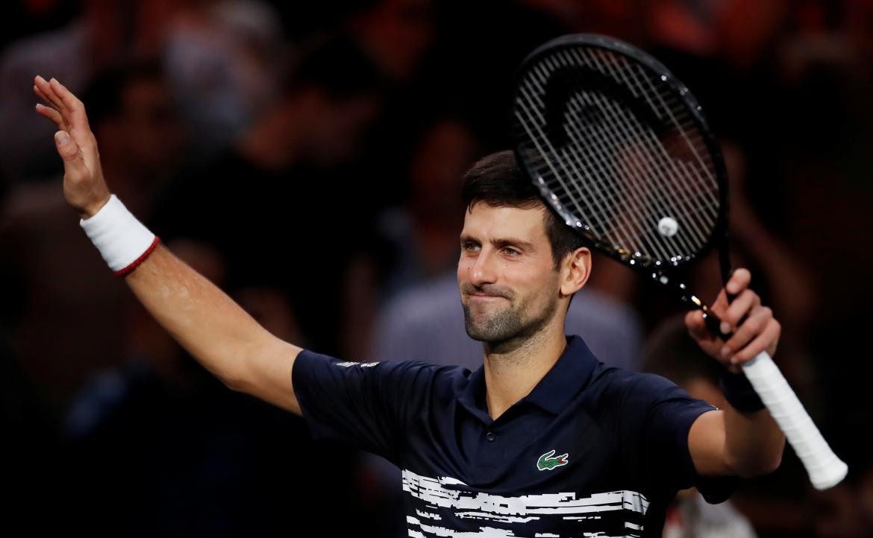 Novak Djokovic, Reuters