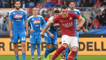 Roma derrotó a Napoli y se acomoda en la tabla de Serie A