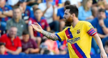 Con Messi en cancha, Barcelona mostró su peor versión y perdió ante Levante