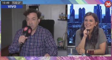 Pachano con Canal 26: