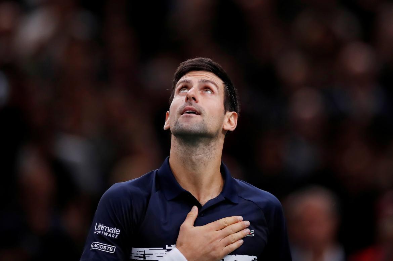 Novak Djokovic, Masters 1000 de París, REUTERS