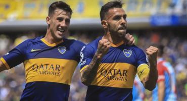 Boca goleó a Arsenal en un partido emocionante y alcanzó la cima de la Superliga