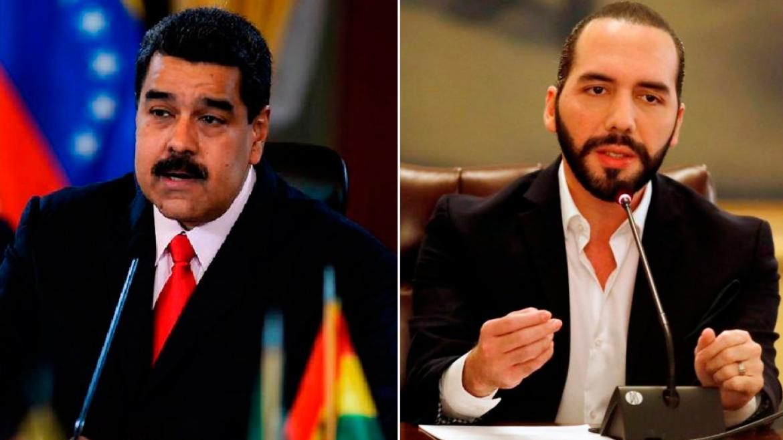 Nicolás Maduro y Nayib Bukele