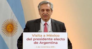 Alberto Fernández en México:
