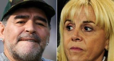 Claudia Villafañe reapareció en las redes tras la muerte de Diego Maradona