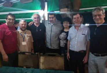 Inversiones en astilleros: ¿quiénes son los sindicalistas argentinos que se reunieron con Maduro?