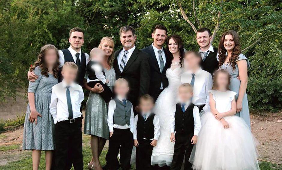 Masacre en México, familia