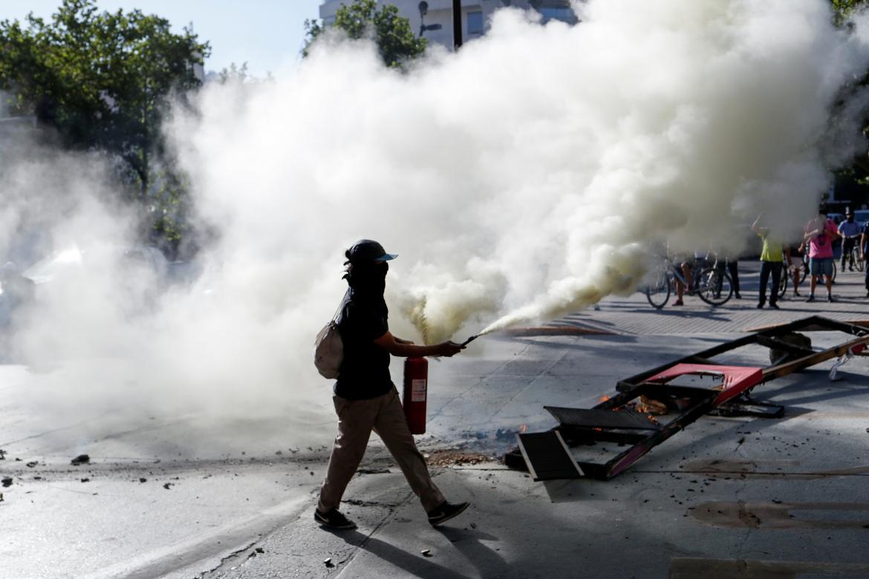 Protestas y violencia en Chile, REUTERS