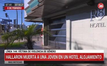 Hallaron muerta a una mujer en un hotel alojamiento