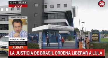 Gustavo Segré sobre liberación de Lula: