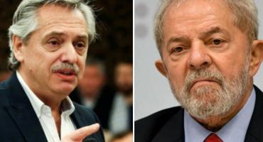Alberto Fernández invitará a Lula a la asunción de la presidencia