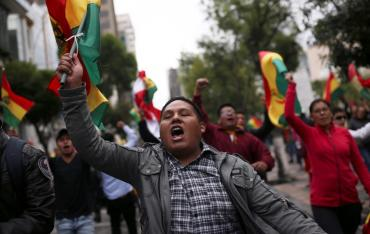 """La OEA halló """"irregularidades muy graves"""" en las elecciones de Bolivia"""