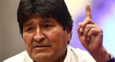 Evo Morales desde México: