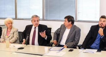 Alberto Fernández se reúne con Tinelli por el plan de lucha contra el hambre