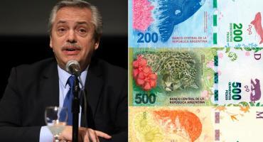 """Alberto Fernández, sobre los billetes de animales: """"Me gustaría que estén los próceres"""""""