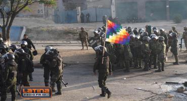 Periodista tras los enfrentamientos en Bolivia: