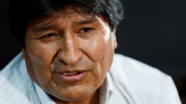 Evo Morales dio positivo de coronavirus y recibe tratamiento para combatirlo
