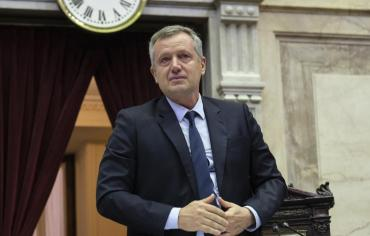 La emoción de Monzó en su última sesión como presidente de la Cámara de Diputados