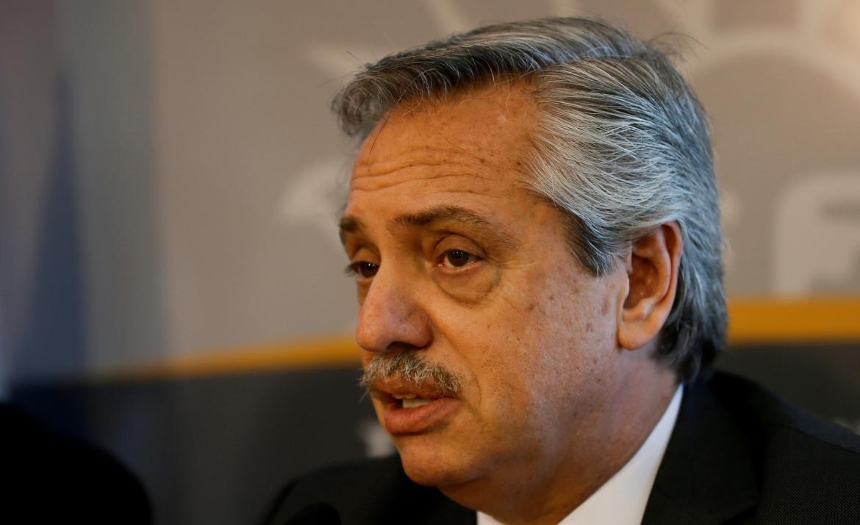 Alberto Fernández, presidente electo, REUTERS