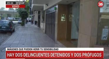 Intento de robo a un departamento y feroz tiroteo en pleno barrio de Belgrano
