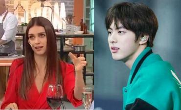 Zaira Nara acusada de xenófoba por los dichos sobre Kim Seok Jin