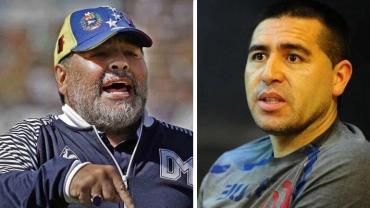 Arde Boca a días de las elecciones: Maradona volvió a apuntar contra Riquelme
