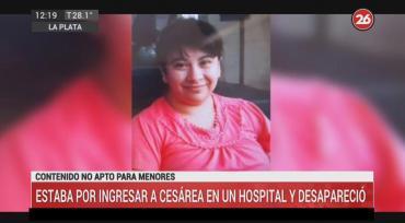 La Plata: embarazada estaba por ingresar a cesárea en un hospital y desapareció
