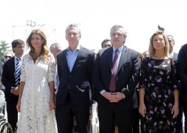 Con Macri y Fernández en Luján, la Iglesia llamó a