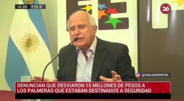 Escándalo en el gobierno socialista de Lifschitz en Santa Fe: denuncian desvío de 15 millones de pesos a Los Palmeras