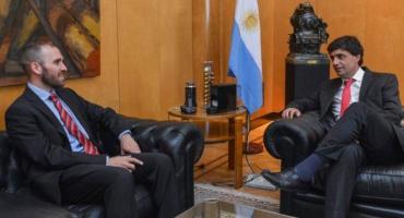 Martín Guzmán y Lacunza se reunieron en el Palacio de Hacienda: