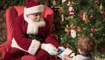 ¿Cómo hacer que los niños se diviertan la noche de navidad siguiendo a Papá Noel en vivo?