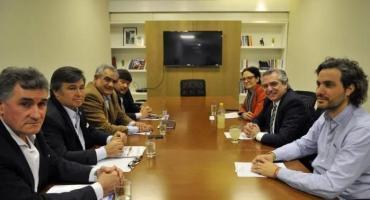 Alberto Fernández recibe a la Mesa de Enlace por actualización de retenciones