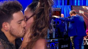 Fede Bal y Lourdes Sánchez se besaron apasionadamente y el Chato Prada enfureció