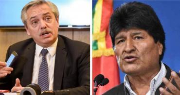 El gobierno le pidió a Evo Morales que baje el tono de sus expresiones