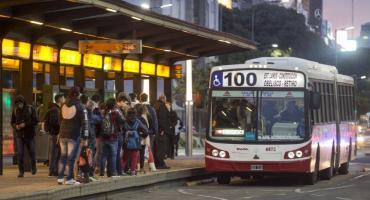Coronavirus AMBA: aumentó 6% el uso del transporte público el fin de semana largo