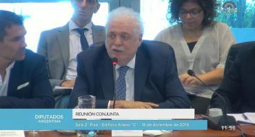 Ginés González García en debate de Emergencia: