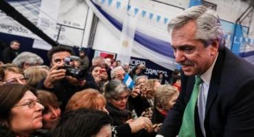 """Alberto Fernández dijo que con la nueva ley los jubilados """"dejarán de perder"""""""