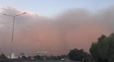 Espectacular video: así se formó la tormenta en Mendoza