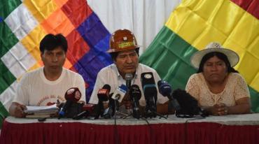 Bolivia: Evo Morales anunció que el MAS elegirá candidatos presidenciales el 19 de enero