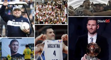 Anuario Deportivo 2019: Messi de Oro, la vuelta de Maradona y River, entre copas agridulces