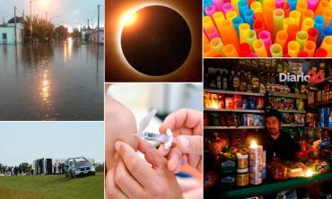 Anuario Info General 2019: dolor en Ruta 2, el lado oscuro con el apagón y un eclipse soñado