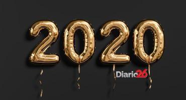 ¡Feliz 2020, les deseamos el equipo de Diario 26!