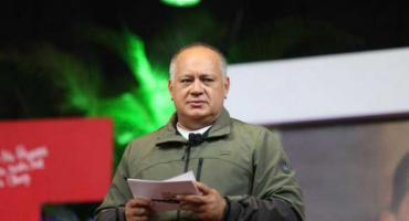 """Diosdado Cabello: """"Argentina verá de qué lado se acomoda, si de los pueblos o de los arrastrados"""