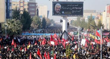 Tragedia en Irán: al menos 35 muertos por estampida durante el funeral de Qasem Soleimani