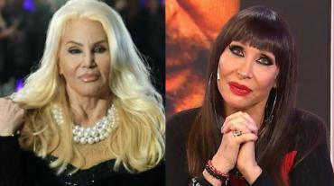 Moria Casán, lapidaria contra Susana Giménez:
